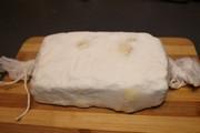 Biały ser wędzony z czosnkiem