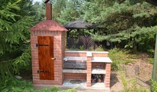grillo wędzarnia - budowa projekt wykonanie
